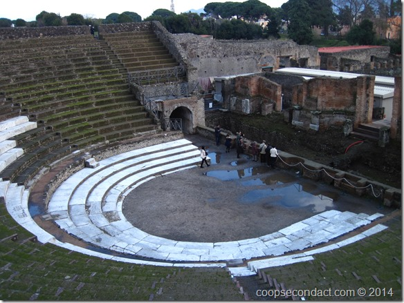 Pompeii - 5,000 seat theater