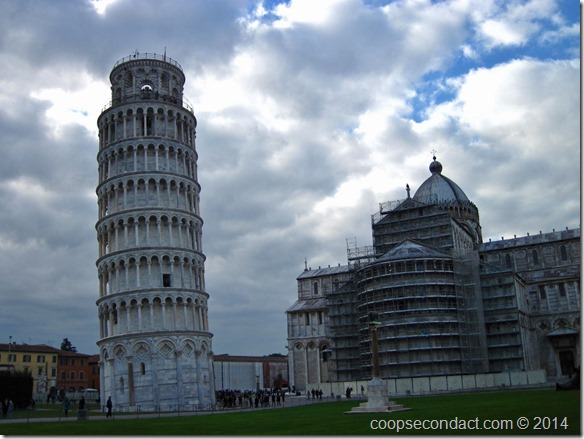Tower of Pisa - bit of a banana shape