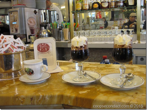 Bicerin at Cafe Fioro