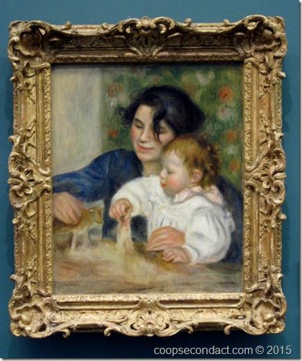 Renoir, Gabrielle et Jean
