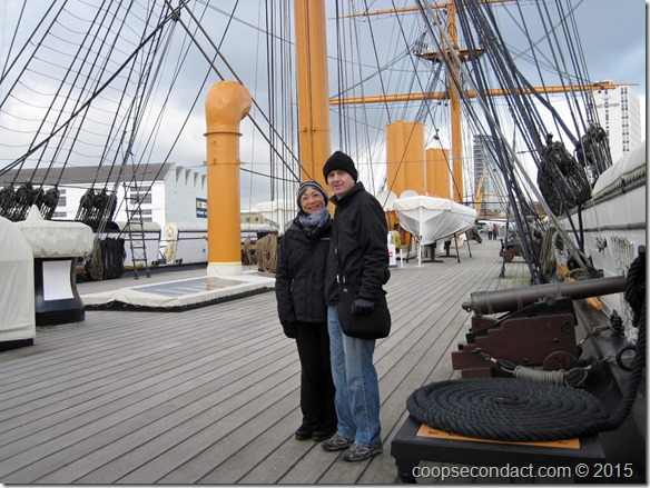 Aboard HMS Warrior