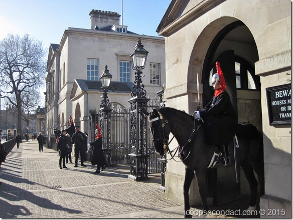 The Queens Life Guards (Horse Guards)