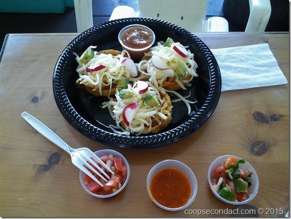 Lunch at La Super Rica