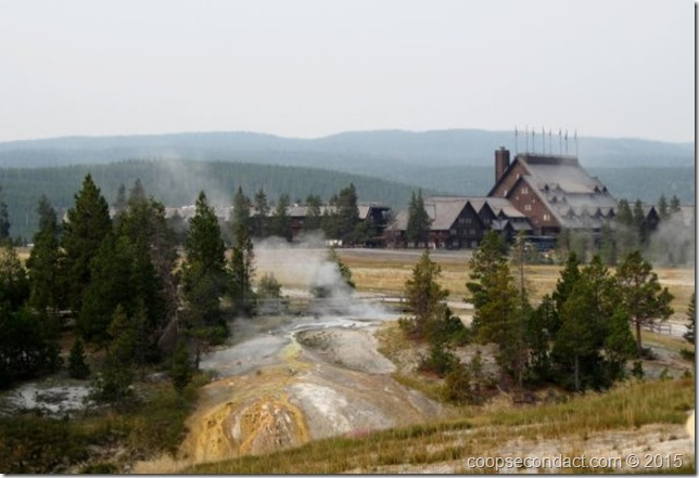 Old Faithful Inn - Upper Geyser Basin