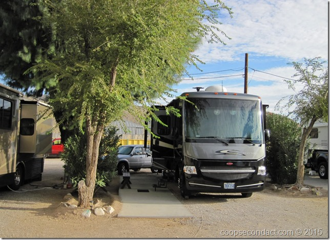 Shady Lane RV Camp, Barstow, CA