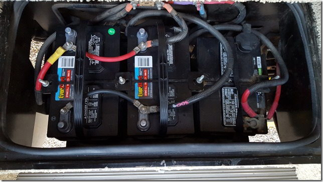 New House Batteries Installed