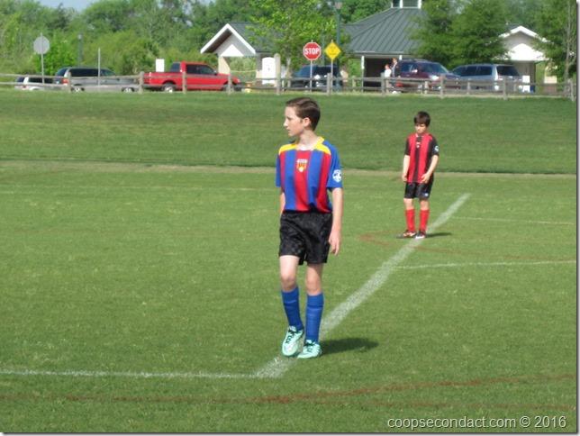 Andrew's Soccer game