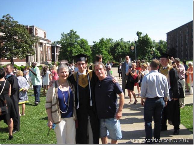 Noah Graduation Day