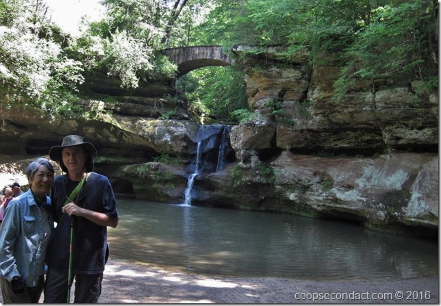 Old Man's Cave - Upper Falls