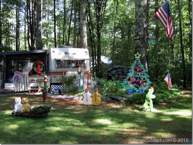 Christmas in July at Wakeda Campground