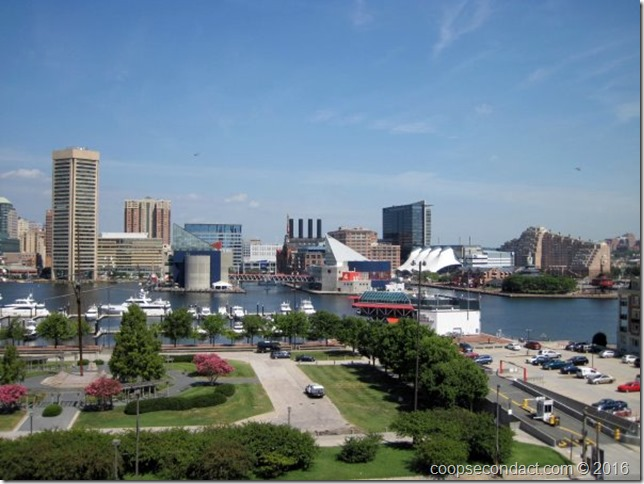 Baltimore Inner Harbor - From Federal Hill