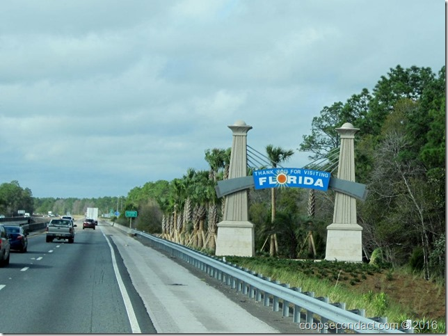Leaving Florida