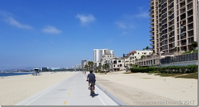 Long Beach Bike Path