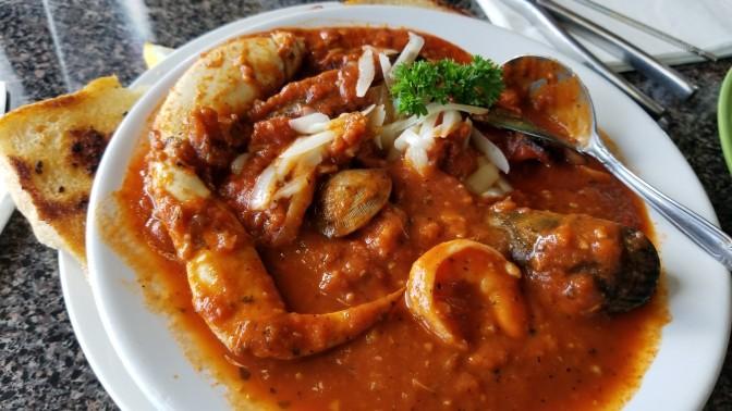 Cioppino at Crescent Seafood