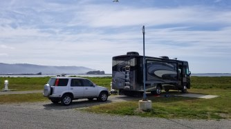 Parked at Shoreline RV Park