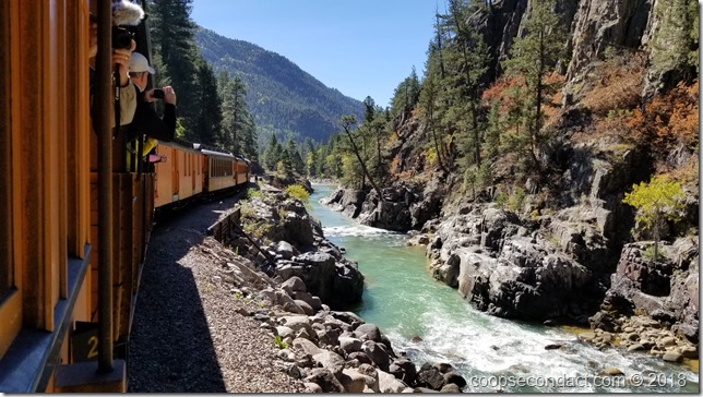 Animas River - D&SNG Railroad