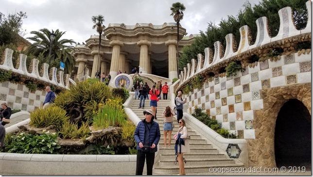 Park Gűell - Monumental Flight of Steps