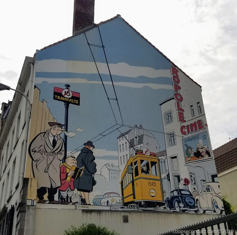Brussels Murals Second Act