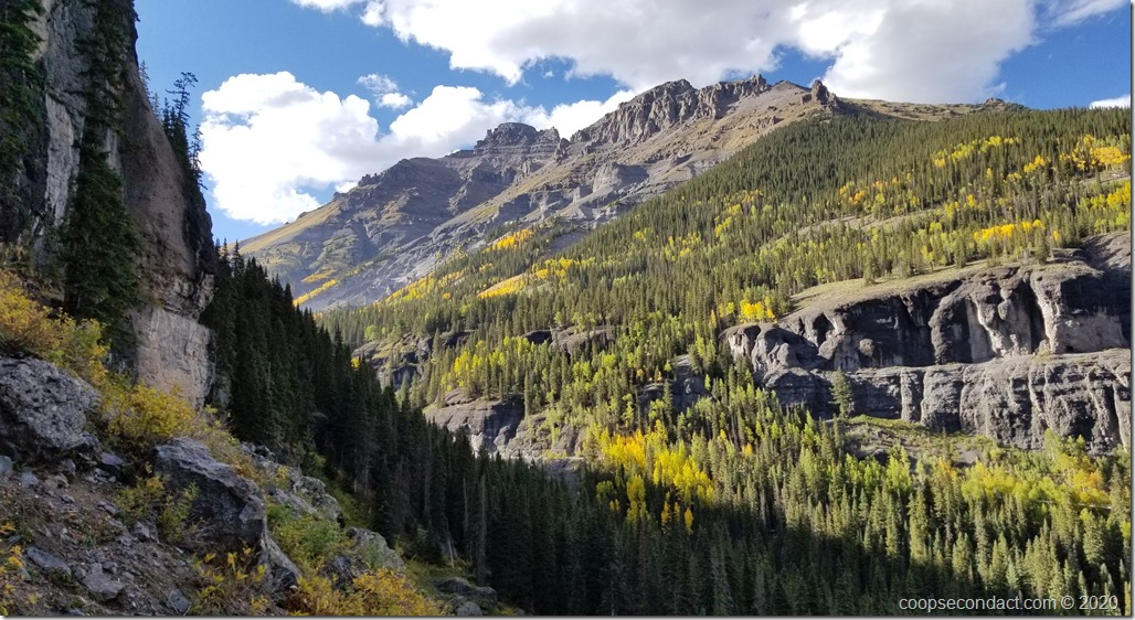Rocky Mountains near Ouray, CO